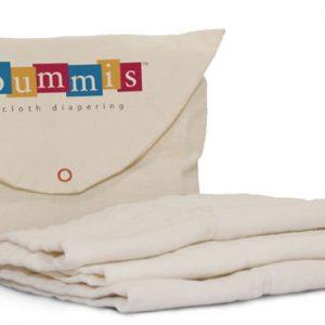 Bummis Organic Cotton Prefold Diaper Inserts