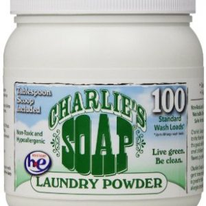 Charlie's Soap (Formally Wonder Wash) Detergent Jar