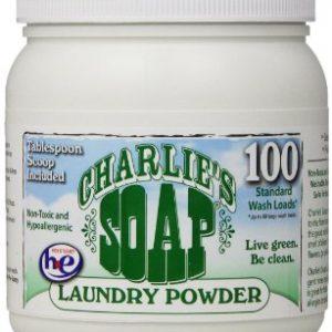 Charlie's Soap (Formally Wonder Wash) Detergent Jar