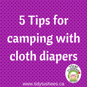 5 tips for camping